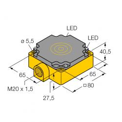 Bi40-CP80-VP4X2 Turck...